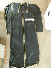 3 x PLASTIC GARMENT SUIT DRESS COVER BAG STORAGE PROTECTOR