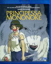 PRINCIPESSA MONONOKE, di Hayao Miyazaki 1997 BLU RAY NUOVO