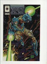 X - O  Manowar  # 0  Valiant comic book  Chrome cover