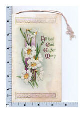 Victorian Greeting Card | Easter Booklet AS Kathryn Elliot Illustration Embossed