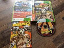 Borderlands 2 (Microsoft Xbox 360, 2012) Used Free US Shipping