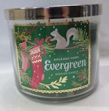 1 Evergreen Scented Candle Bath & Body Works 14.5 Oz