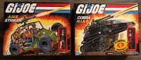 G.I. Joe Lot Of 2 NEW 2020 Vehicles - A.W.E. Striker & Cobra H.I.S.S. W/ Drivers