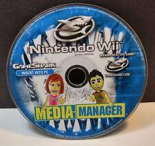 GAMESHARK MEDIA-MANAGER WII DISC ONLY