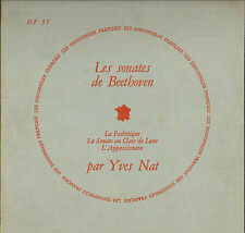 DF 57, YVES NAT, BEETHOVEN SONATES LP DISCOPHILES FRANCAIS 57