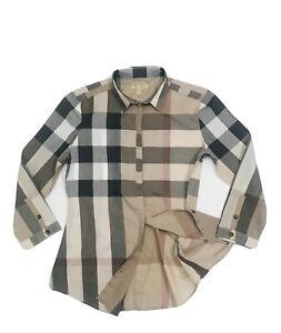 Burberry Brit Women's Casual Cotton Tunic Top (Original) RRP  £249