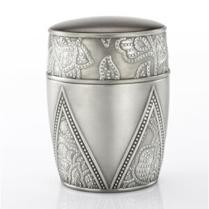 Royal Selangor Hand Finished Gembira Collection Pewter Gembira Tea Caddy Gift