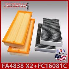 FA4838(X2) FC16081C(CARBON) ENGINE & CABIN AIR FILTER: 2009-2013 MERCEDES G550