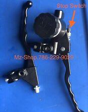 MZ TS ETZ 250/251  BRAKE PUMP AND LEVER CLUTCH ( Bomba Freno y Manilla Cloche )