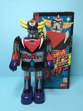 "Vintage 70s Popy Tin toys "" GRENDIZER "" bullmark masudaya takatoku"