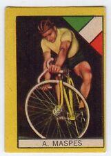 figurina CICLISMO edizione STELLA ANNI '60 ITALIA A. MASPES