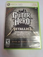Guitar Hero: Metallica - Microsoft Xbox 360 Game No Manual, Kyuss, Motorhead
