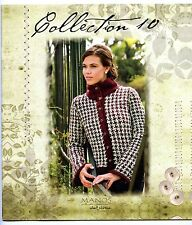 Collection 10 Wool Classica - Manos del Uruguay Knitting Pattern Book - Women