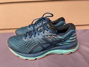 EUC Asics Gel Cumulus 21 1012A487 Gore-Tex Women US 8.5 Blue Running Shoes D6