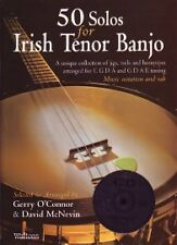 50 SOLOS FOR IRISH TENOR BANJO O'Connor Book & CD*