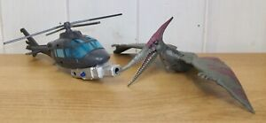 Jurassic World - Pteradon vs Helicopter - action figures
