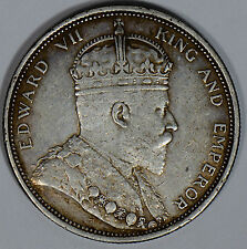 S0145 Straits Settlements 1903 B incused Dollar combine shipping