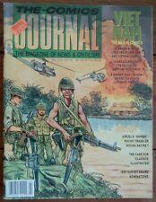 THE COMICS JOURNAL 136, VIETNAM SPECIAL, FANTAGRAPHICS, JULY 1990, FN
