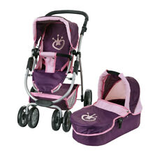 Knorrtoys Puppenwagen Coco 2in1 (Berry Princess)