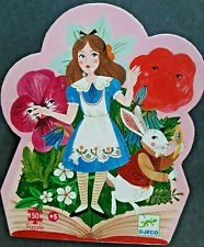 DJECO Alice in Wonderland 50pieces Puzzle Pink Glossy age 5+