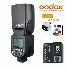 Godox V860II-N 2.4G TTL Flash Speedlite Li-on Battery + X2T-N For Nikon Camera