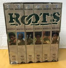 Vintage VHS Six Tape Boxed Set / 1977 'ROOTS' /Like New