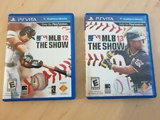 Used Ps Vita MLB The Show 12 & 13 avec cartouches. Playstation Vita. En anglais