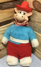 Quick Draw McGraw Plush Doll KNICKERBOKER 1962 Incredibly Rare