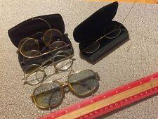 Antique Vintage GP Gold? Wire Rim Eyeglasses Lot of 5