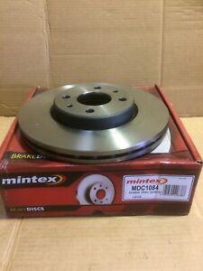 Mintex Mdc1084 Pair Of Front Vented Discs Fit Mito,Citroen,Fiat 500,punto,panda