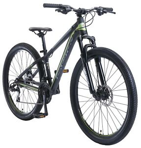BIKESTAR Alu Mountainbike 27,5 Zoll | 21 Gang Hardtail Sport MTB 14 Zoll Rahmen