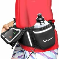 Voted No.1 Hydration Belt Winners Running Belt Includes 2 BPA Free Water Bottles