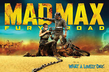 Mad Max (2015 Movie) Fury Road Poster Print, 36x24