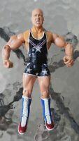 "WWE WWF Kurt Angle 7"" Wrestling Action Figure 2003 Jakks Pacific Wrestler"