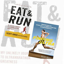 Finding Ultra Rejecting Middle Age 2 Books Collection Set Eat and Run My Unlikel