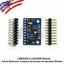5PCS 3-Axis Electronic compass Gyroscope Acceleration Module LSM303DLH L3G4200D