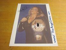 Angel Orsini Wrestler Autographed/Signed 8.5X11 Photograph Wrestling ECW WSU