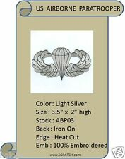 AIRBORNE JUMP WINGS PATCH - ABP03