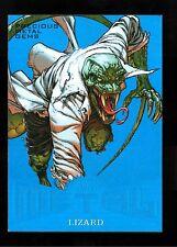 Rare Pmg Blue#D /49 ! Lizard Marvel Precious Metal Spiderman