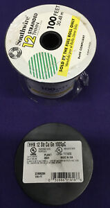 Southwire 12 Stranded THHN Wire 100 feet 30.48m Never Used! GREEN