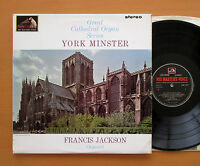 CSD 1550 YORK MINSTER Great Cathedral Organ Series 1964 HMV Stereo EXCELLENT