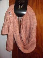 MIXIT - WOMEN - SCARF - OBLONG - RARE CORAL - ONE SIZE   (AC-20-185x3)