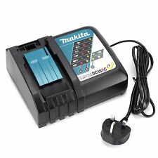 Makita Genuine DC18RC 7.2 - 18V Li-on Fast Charger 240v Brand New UK Stock