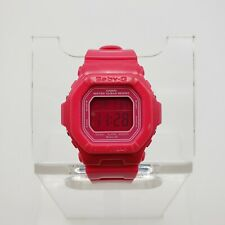 Casio Baby-G Women's Digital Watch Pink BG-5601-4DR Square Glossy 40mm Rugged