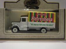 LLEDO LP28 018 1934 MACK CANVAS BACK TRUCK - TREBOR REFRESHERS - RARE ITEM