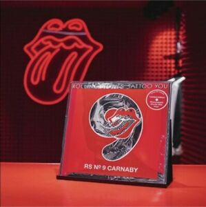 Rolling Stones 'Tattoo You' 9 Carnaby Street, limited edition single red vinyl.