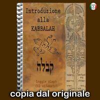 cabala kabala kabbalah ebraica libri antichi originale ebraico mistica magia