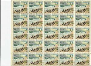 US NATURE 1972 SCOTT #1448-1451 CAPE HATTERAS SEASHORE 2c MINT VF 50 STAMP SHEET