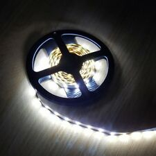 Cool White LED Strip 12V 12 Volts 5 Meter roll self adhesive