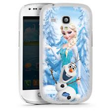 Samsung Galaxy S3 mini Handyhülle Case Hülle - Frozen Elsa & Olaf